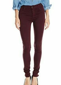 James Jeans Wine Twiggy Skinny Jeans
